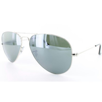 Lentes Rayban Aviator Rb 3025, 58#14, 001/40 Color Gris
