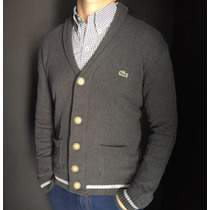 Saco Cardigan Hilo Lacoste,hollister, Polo, Tommy Original.