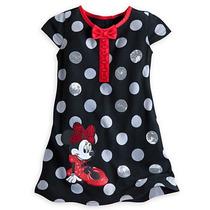 Minnie Mouse Lentejuelas Vestido De Punto Para Niñas Disney