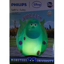 Sulley Lampara De Noche Recargable Philips Led Soft Pal