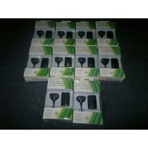 Kit Carga Y Juega En Color Negro,para Xbox 360,checalo