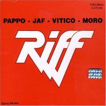 Cd Riff - Pappo Jaf Vitico Moro ( En Vivo ) Big Bang Rock