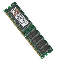 Memória Kingston Ddr1 2gb Desktop Kvr400x64c3a/1g Kit 2x1