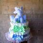 Torta De Pañales Para Bebés, Nacimientos, Baby Shower