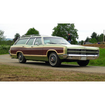 Ford Ltd Coutry Squire 1969 Raro Maverick / Mustang /f100