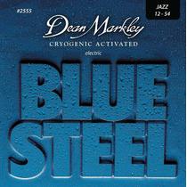 Cuerdas Guitarra Dean Markley Blue Steel 2555 Jazz 12-54