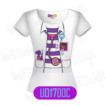 Remeras De Niñas Doctora Juguetes - Personalizadas -