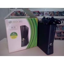 Xbox 360 Slim 250gb Com 25 Jogos