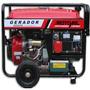 Gerador A Gasolina 8 Kva Partida Elétrica 110/220v Motomil