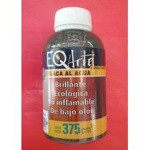 Laca Al Agua Brillante 375 Ml. Eqarte Varios Colores!!