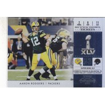 2011 Playoff Contenders Super Bowl Tickets Aaron Rodgers Qb