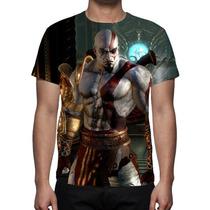 Camisa, Camiseta God Of War Kratos 2 - Estampa Total
