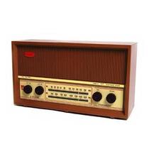 Rádio Antigo Caixa De Madeira C/ Velhos Semp 2 Faixas