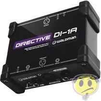 Direct Box Ativo Profissional Waldman Directive Di-1a Xlr