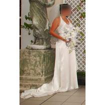 Vestido D Novia Boda Seda Talla 26 De $19,000 Oferta $8,000