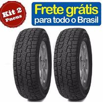 2x Pneu 205/70-15 Scorpion Atr Strada Doblo Eco Remold Novo