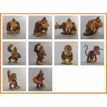 Bonecos Donkey Kong Diddie Kong Dixie Kong Mario Snes