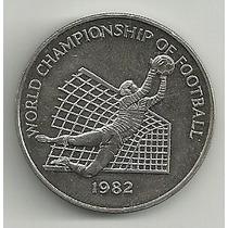 Moneda Jamaica 1 Dolar (1982) Mundial España 82