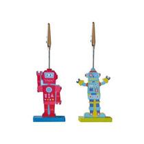 Portamensaje Robot Dia Del Amigo X 12 U Local Belgrano