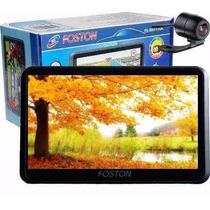Gps Automotivo Foston Fs3d717dc Tela 7 Touch Cam Ré Tv 3d