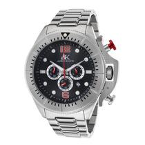 Reloj Adee Kaye Ak9041-m-bk Es Chronograph Stainless Steel