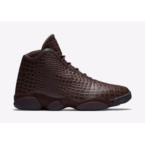 Tenis Nike Air Jordan Horizon Premium Croc Brown 822333-205