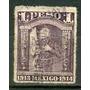 Sc R399 Año 1913 Fiscal Hidalgo Con Estandarte De La Vigen D