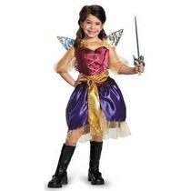 Disfraz Zarina Tinkerbell Hadas Y Piratas Pirata Para Niñas