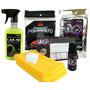 Kit Vitrificador + Lae36 C/ 2 Panos E Papel De Polimento