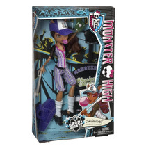 Boneca Mattel Monster High Ghoul Sports Clawdeen Wolf