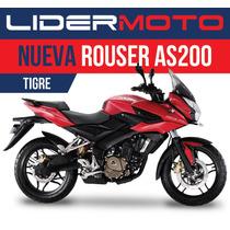 Bajaj Rouser As200 - Lider Moto - Lanzamiento Exclusivo!!!