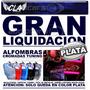 Liquidacion Alfombra Tuning Auto Cromadas Goma 4 U Detalles