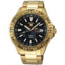 Relógio Seiko Srp440 Sports Automatico Dourado Importado