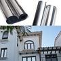 Pelicula Insulfilm Espelhado Prata 0,75 X 2,5m Profissional