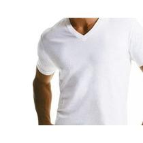 Camiseta Malha Fria Pv Fio 30.1 Gola V Várias Cores Do P/gg