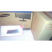 Monitor Samsung 22 Pulgada Cpu Lg Y Teclado Inalambrico