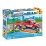Lego Bomberos Al Rescate 200 Pzas Lego Compatible Marca Cobi