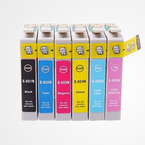 Kit 6 Cartuchos Epson T50 R270 R290 R380 100% Novos