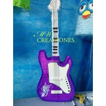 Piñatas Mw Creaciones Guitarra De Violeta
