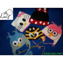 Gorritos Crochet Para Bebes Y Niños!!!!! En Lana O Hilo