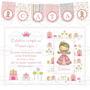 Kit Imprimible Princesa Candy Bar Cumpleaños Invitación