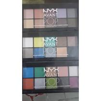Nyx Paleta Sombra Avant Pop