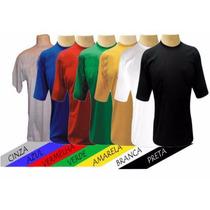 Camisetas Básica Fio 30.1 100% Algodão-lisa-estampar-color