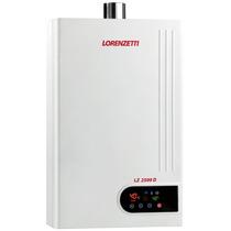 Aquecedor De Água A Gás Lz 2500d Gn 23 Digital - Lorenzetti