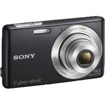 Camara Sony Dsc-w620 Preta+ Capa Bag +cartão De Memoria 4gb