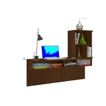 Mesa Escrivaninha Bancada De Estudo Lilac | Colibri