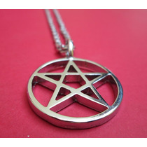 Colar Pingente Pentagrama Wicca