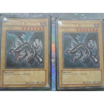 Carta Yu Gi Ho Red-eyes B. Dragon