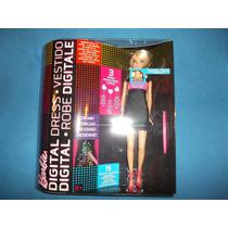 Barbie Vestido Digital Diseña Tus Figuras Con Luz Nueva