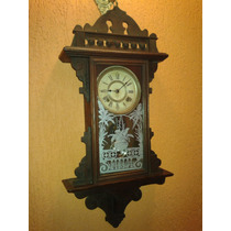 Raríssimo Relógio Ansonia Lawrence Wall Clock- New York/1891
